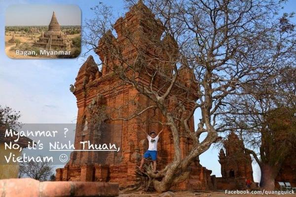 Myanmar đây ư? Không. là Ninh Thuận!