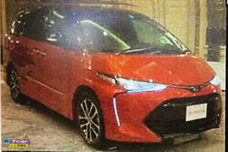 Hình ảnh rò rỉ của Toyota Previa 2016.