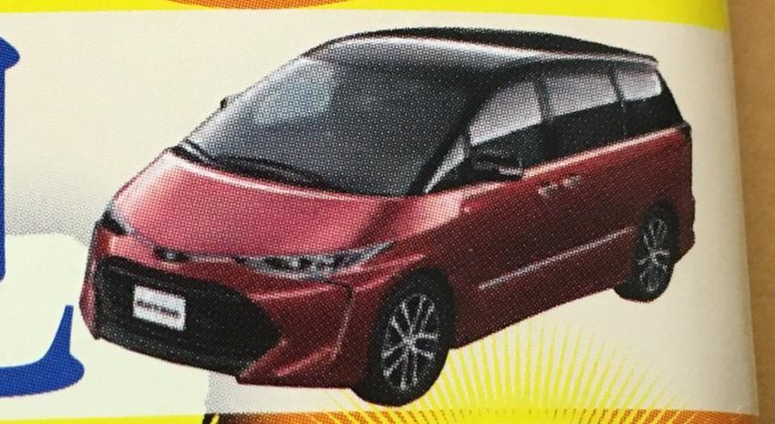 Hình ảnh phác họa Toyota Previa 2016 của tạp chí Mag-X.