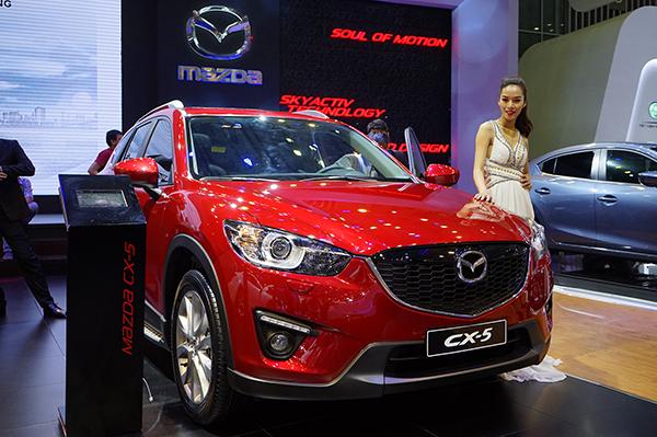 Mazda CX-5 gần như chắc chắn ở vị trí thứ 8.