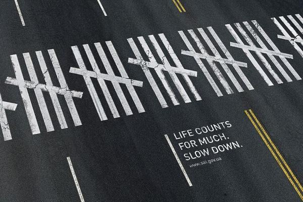 Mạng sống rất đáng giá. Hãy giảm tốc độ.