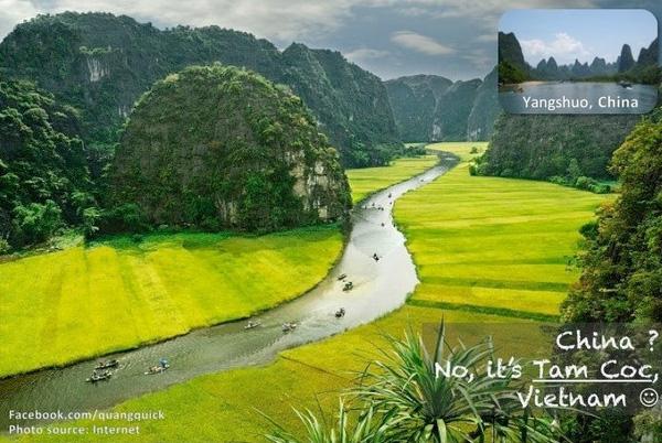 Trung Quốc? Không, là Tam Cốc, Việt Nam.