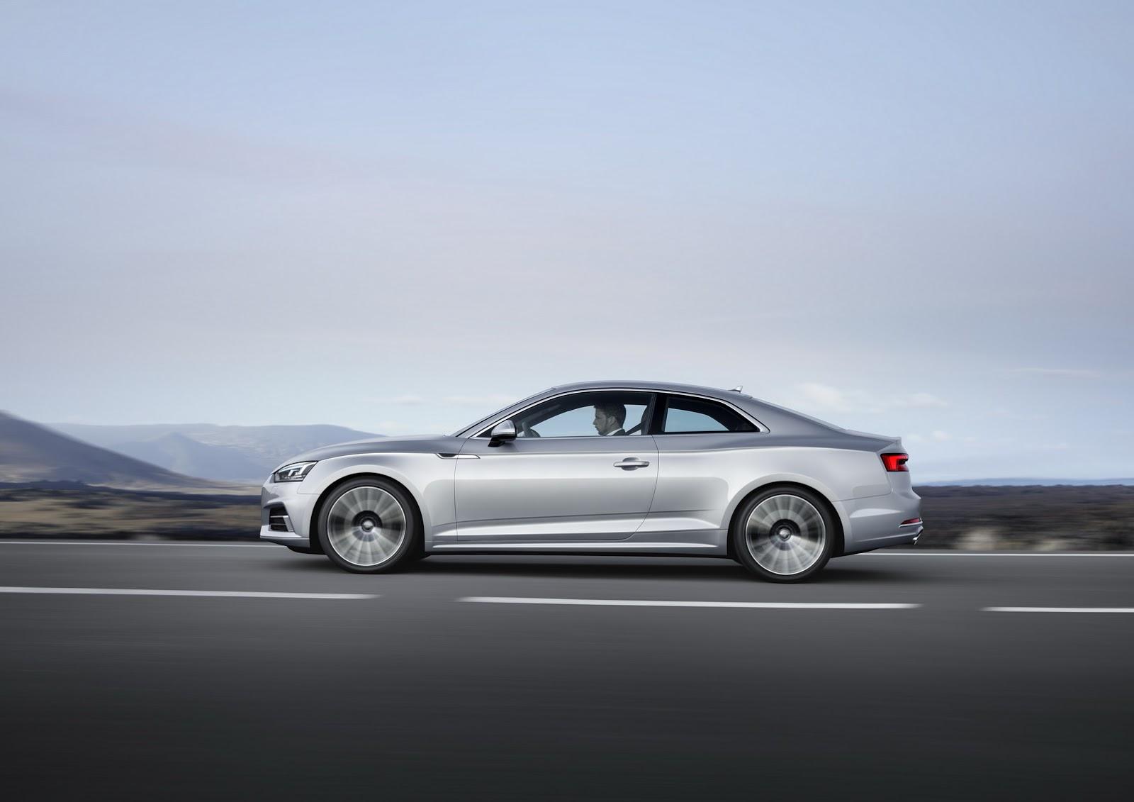 Được phát triển dựa trên cơ sở gầm bệ MLB Evo, Audi A5 2017 nhẹ hơn 60 kg so với trước đây. Điều này càng ấn tượng hơn khi Audi A5 2017 trên thực tế sở hữu chiều dài cơ sở lớn hơn trước. Ngoài ra, Audi A5 thế hệ mới còn sở hữu hệ số lực cản không khí thấp hàng đầu phân khúc, chỉ 0,25 Cd.