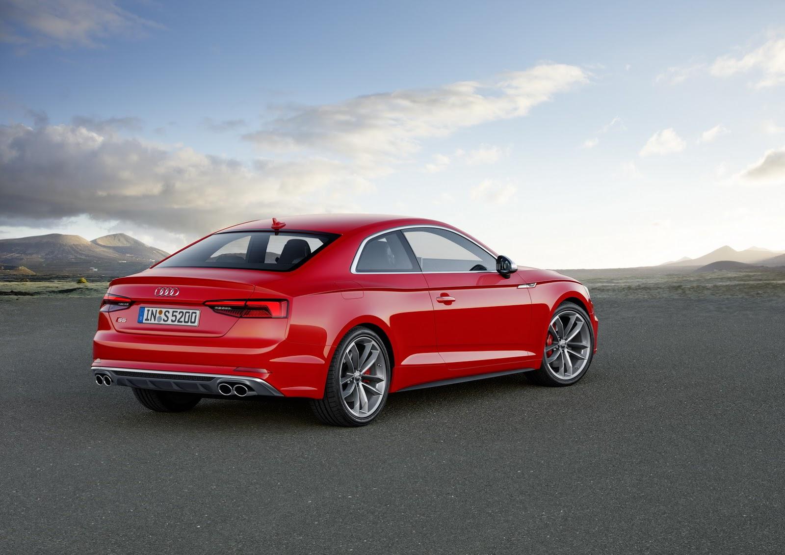 Động cơ mạnh mẽ kể trên giúp Audi S5 thế hệ mới tăng tốc từ 0-100 km/h trong 4,7 giây. Ấn tượng hơn, động cơ V6 tăng áp mới phát triển này còn chỉ tiêu thụ lượng nhiên liệu trung bình 7,3 lít/100 km.