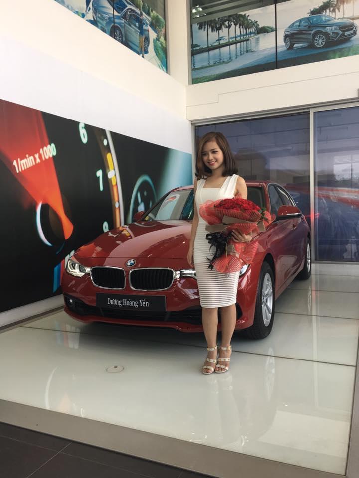 Đây là quà mừng sinh nhật 25 tuổi của Dương Hoàng Yến.