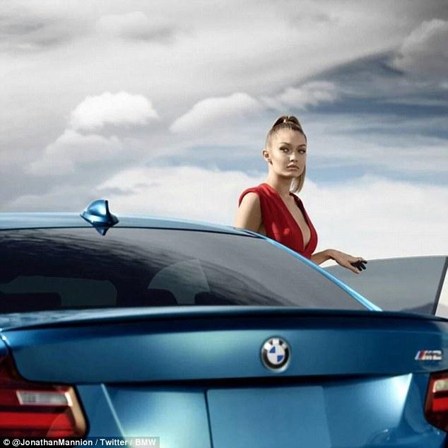 Sự xuất hiện của Gigi Hadid trong chiến dịch quảng cáo có thể giúp BMW bán được nhiều xe M2 hơn.