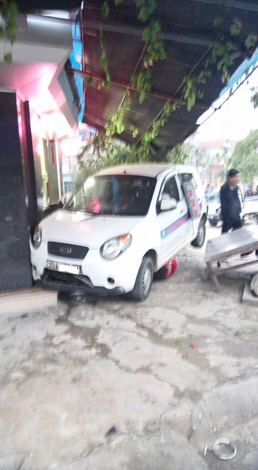 Chiếc taxi...