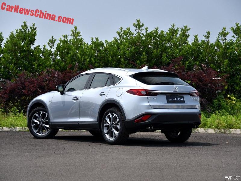 Đến nay, Mazda CX-4 mới chính thức được bày bán trên thị trường Trung Quốc. Giá bán của mẫu xe khiến nhiều người Việt phát thèm cũng vì thế mà được công bố. Theo đó, Mazda CX-4 sẽ có giá dao động từ 140.800 - 215.800 Nhân dân tệ, tương đương 473 - 724 triệu Đồng, tại Trung Quốc.