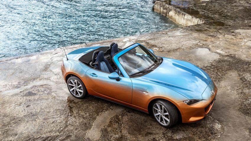 Theo Garage Italia Customs, màu sơn đặc biệt này đòi hỏi các nghệ sỹ có tay nghề phải hết sức cẩn trọng. Họ phải sơn sao cho hai màu cam và xanh lam phai vào nhau một cách tự nhiên.