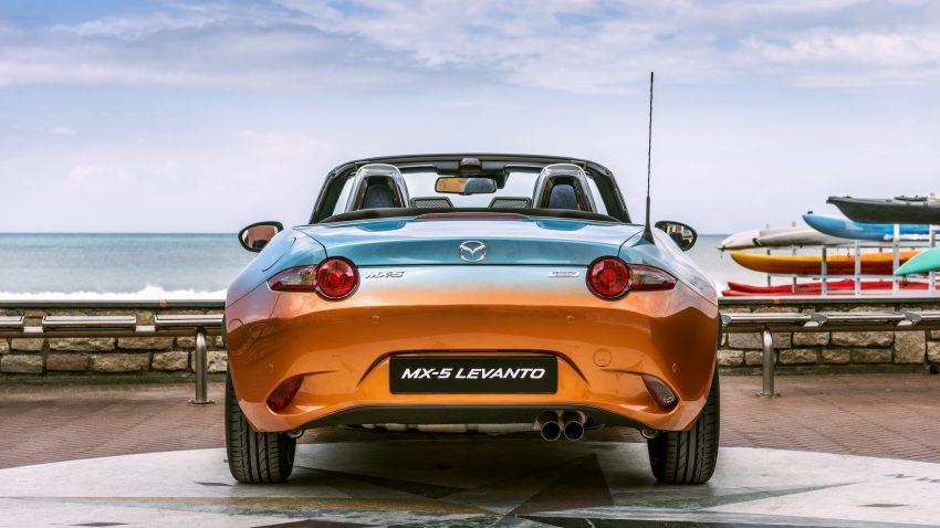 Chịu trách nhiệm chế tạo chiếc Mazda MX-5 Levanto độc nhất vô nhị là hãng độ Garage Italia Customs. Đây chính là hãng độ do thiếu gia thừa kế tập đoàn Fiat, Lapo Elkann, thành lập. Mục đích của hãng độ Garage Italia Customs chính là tạo ra món quà tri ân bộ phim Endless Summer nổi tiếng.