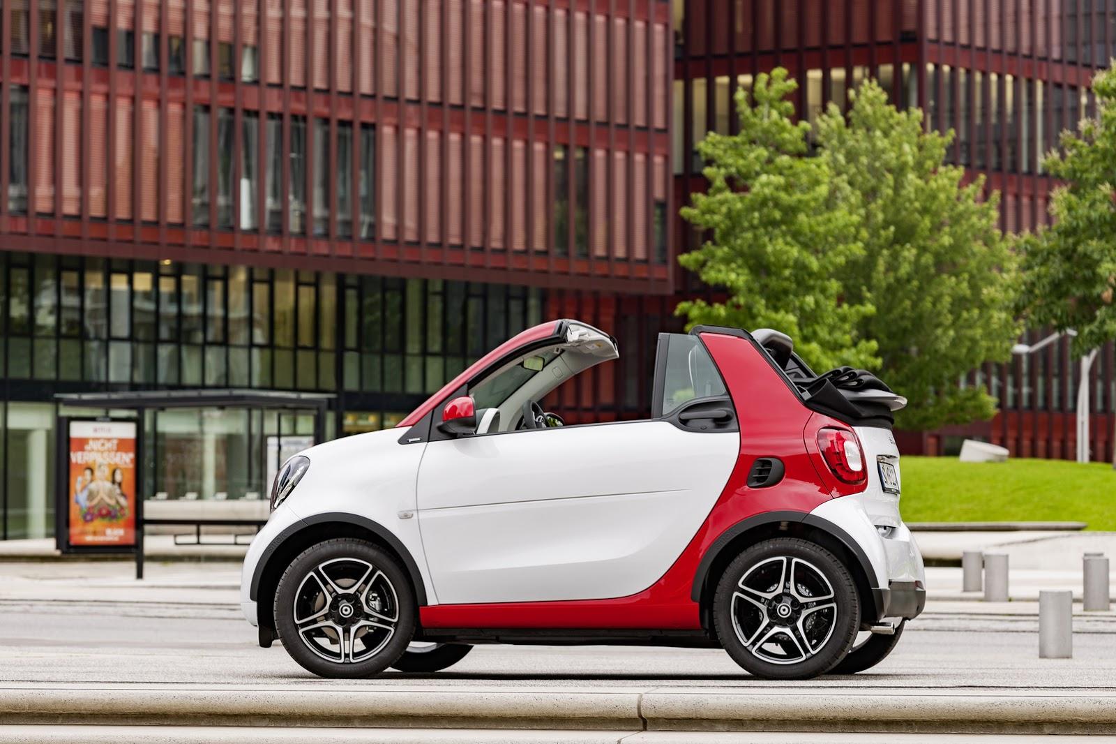 Cách đây 3 tuần, mẫu xe mui trần bé hạt tiêu Smart ForTwo Cabriolet mới đã chính thức được bày bán tại thị trường châu Âu. Đến nay, Smart ForTwo Cabriolet 2016 tiếp tục được phân phối tại thị trường Mỹ với giá hấp dẫn.