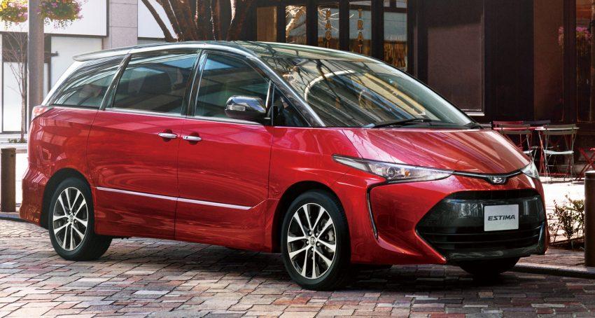 Logo nhà sản xuất nằm giữa hai thanh crôm nối liền với cụm đèn pha. Ngoài ra, Toyota Previa 2016 còn có bộ cánh ngoại thất 2 tông màu, thay đổi theo lựa chọn của khách mua.