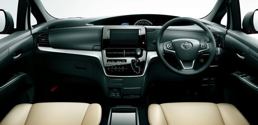 Cách bố trí bên trong Toyota Previa 2016 vẫn giống như cũ. Những chi tiết mới bên trong Toyota Previa 2016 bao gồm vô lăng 3 chấu đa chức năng, chỉnh điều hòa dạng cảm ứng, cửa gió điều hòa, phụ kiện trang trí và chất liệu bọc ghế cao cấp hơn cùng màn hình đa thông tin dạng màu TFT 2,6 inch.