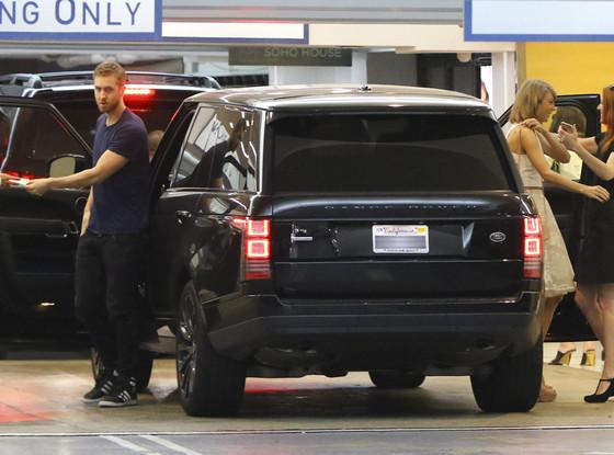 Calvin Harris sử dụng chiếc SUV hạng sang để chở Taylor Swift khi cả hai chưa chia tay nhau.