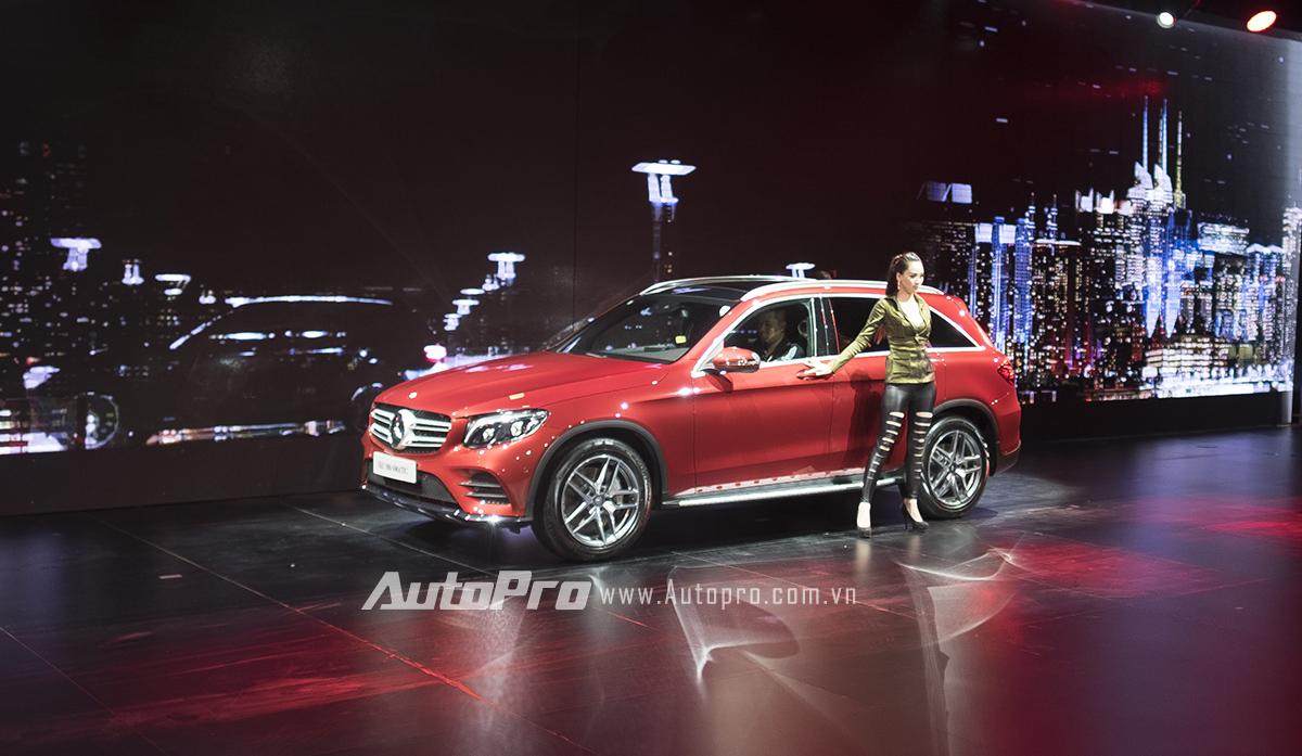 Màn trình diễn 3D và sự xuất hiện của Mercedes-Benz GLC có lẽ là điểm nhấn duy nhất của chương trình SUVenture.