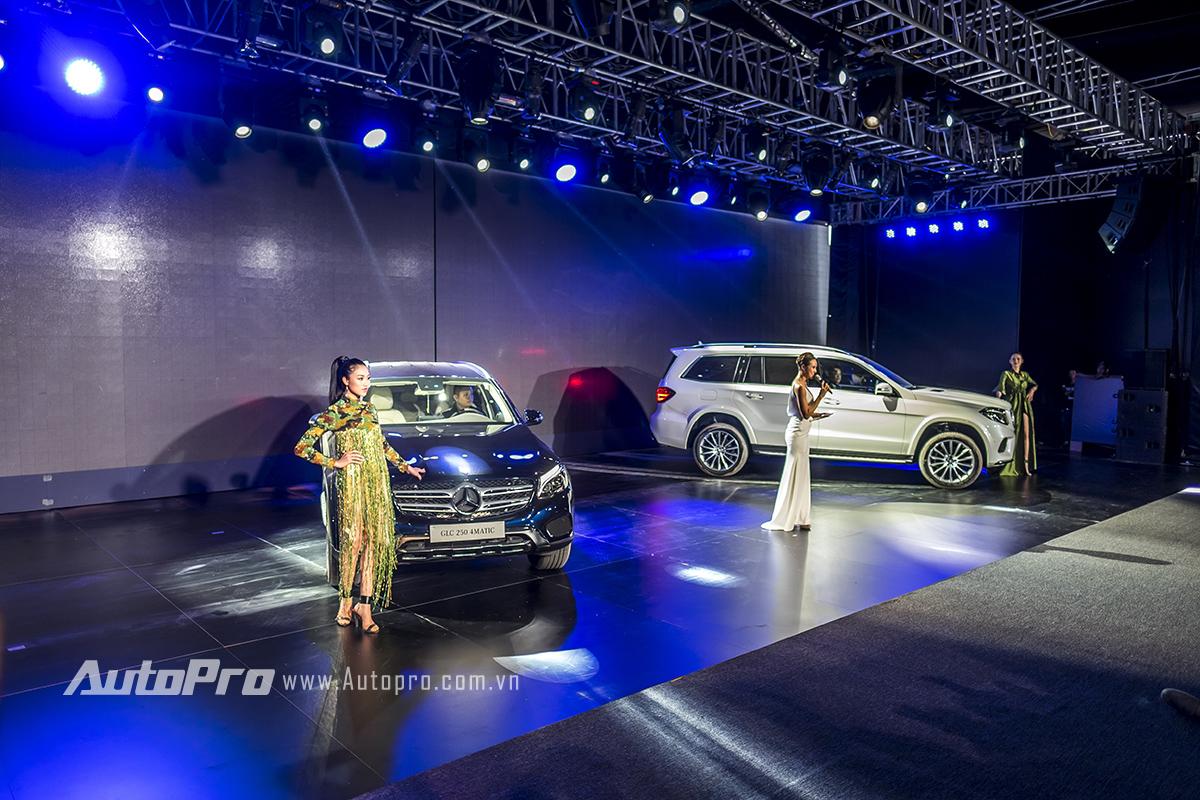 Siêu mẫu Phương Mai vốn đã làm một MC quen mặt tại các chương trình của Mercedes-Benz.