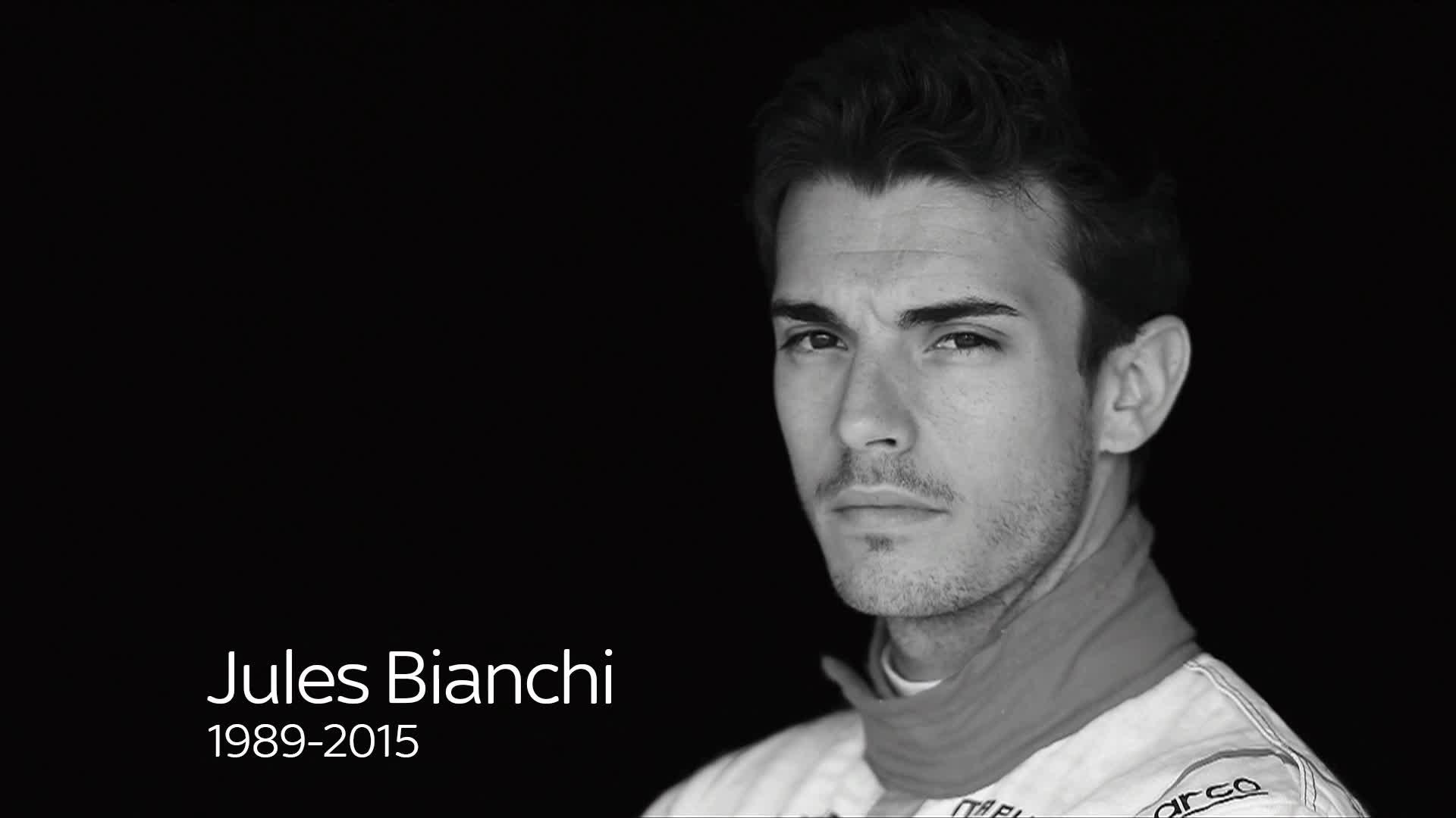 Tay đua Jules Bianchi .