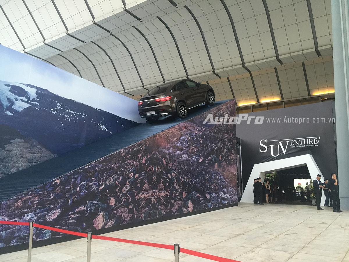 Khu vực tổ chức SUVenture tại trung tâm hội nghị Quốc gia.