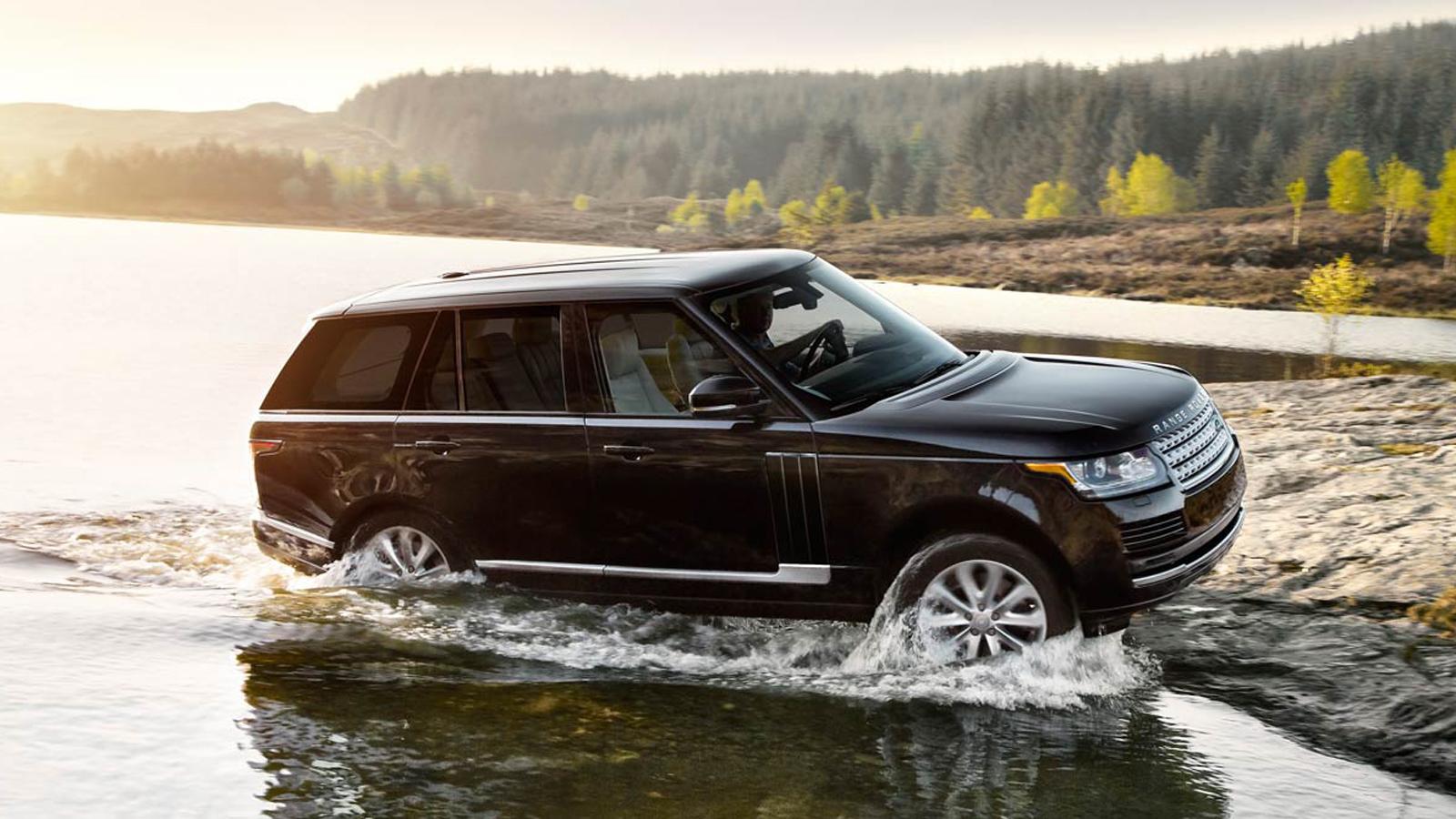 Range Rover là một trong những mẫu SUV hạng sang bị trộm nhòm ngó nhiều nhất. Ảnh minh họa