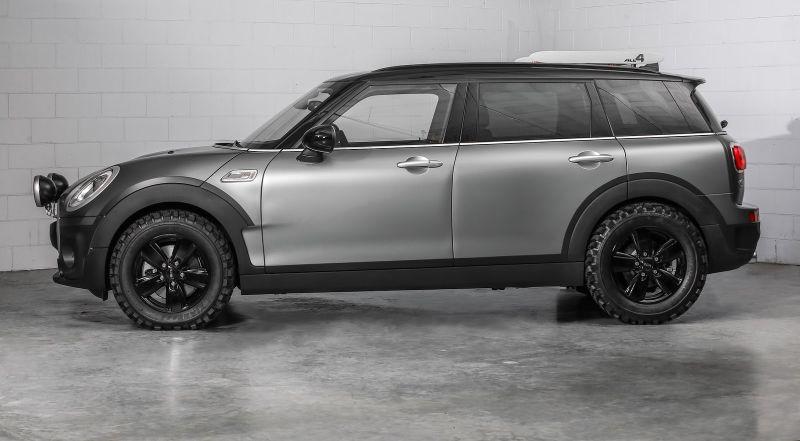 Đây là câu trả lời cho những khách hàng muốn cầm lái một chiếc xe dễ thương, nhỏ nhắn đậm chất Mini nhưng pha chút dáng vẻ mạnh mẽ của SUV.
