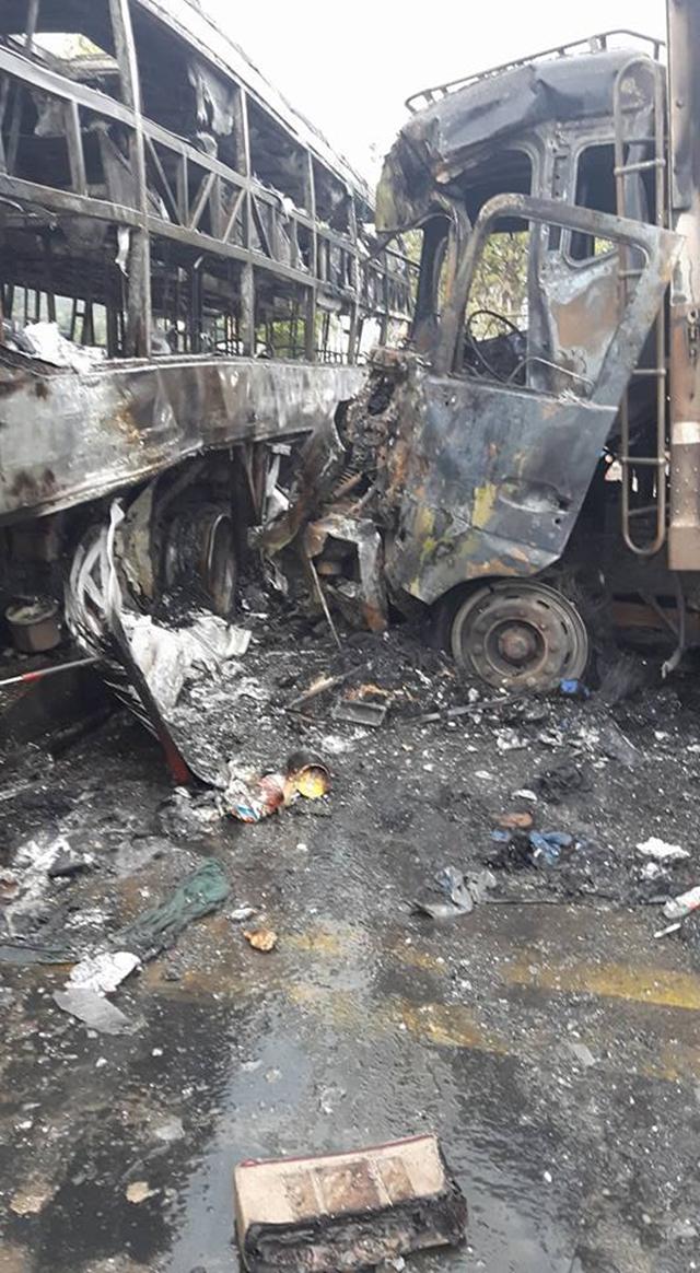 Tai nạn kinh hoàng diễn ra vào sáng nay, ngày 22/5/2016, tại Bình Thuận khiến nhiều người không khỏi bàng hoàng.