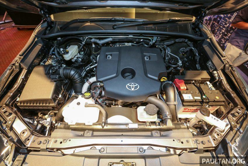 Phiên bản động cơ diesel tăng áp GD mới 2,4 lít, có công suất tối đa 150 mã lực tại 3.400 vòng/phút và mô-men xoắn cực đại 400 Nm tại 1.600 – 2.000 vòng/phút.