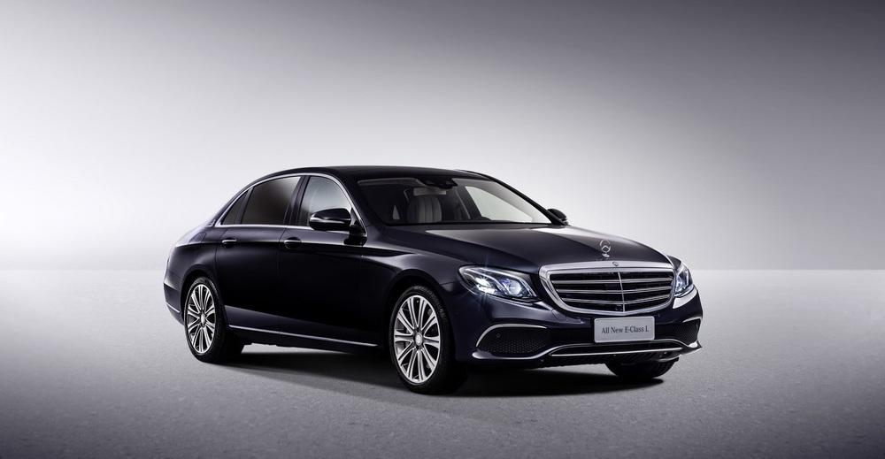 Tại thị trường Trung Quốc, Mercedes-Benz E-Class LWB thế hệ mới hiện chỉ có 1 tùy chọn động cơ duy nhất là máy xăng tăng áp, dung tích 2.0 lít.