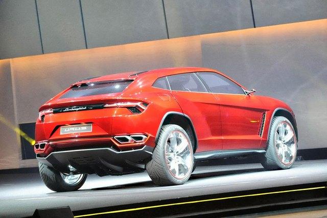 Lamborghini Urus Concept trong triển lãm Bắc Kinh 2013.