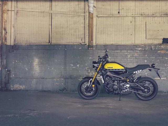 Trên thực tế, đây chính là phiên bản Café Racer của mẫu xe naked bike Yamaha MT-09 quen thuộc.