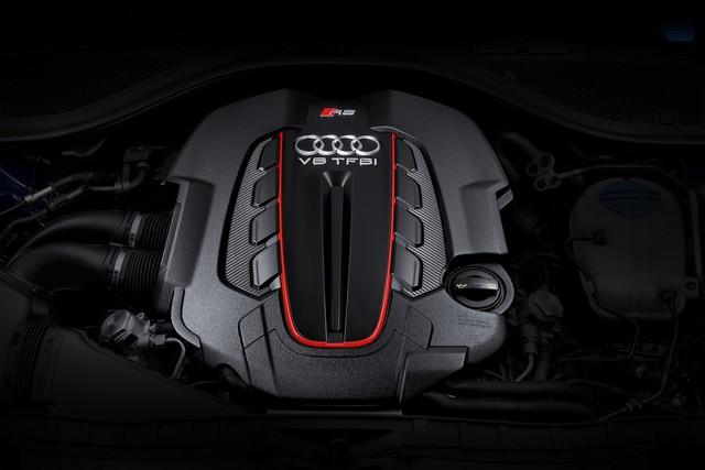 Khối động cơ mạnh mẽ trên Audi RS6 Avant và RS7 Sportback phiên bản Performance.