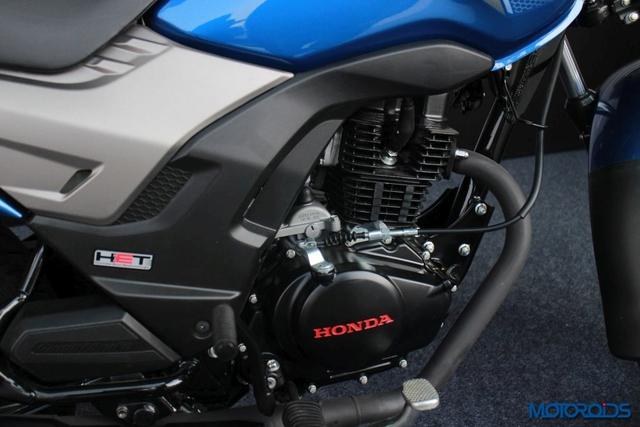 Honda CB Shine SP được trang bị động cơ xi-lanh đơn, 4 kỳ, làm mát bằng gió, phun nhiên liệu bằng bộ chế hòa khí, dung tích 125 cc, kết hợp với hộp số 5 cấp. Động cơ tạo ra công suất tối đa 10,57 mã lực tại vòng tua máy 7.500 vòng/phút và mô-men xoắn cực đại 10,3 Nm tại vòng tua máy 5.500 vòng/phút. Động cơ chỉ tiêu thụ lượng nhiên liệu trung bình 65 km/lít, tương đương 1,5 lít/100 km.