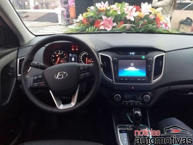 Nội thất của Hyundai ix25 T-GDI mới.