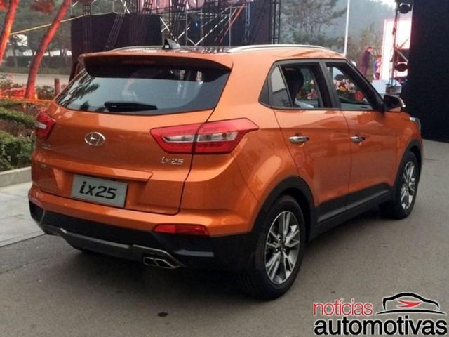 Hyundai ix25 phiên bản dùng động cơ xăng tăng áp mới.