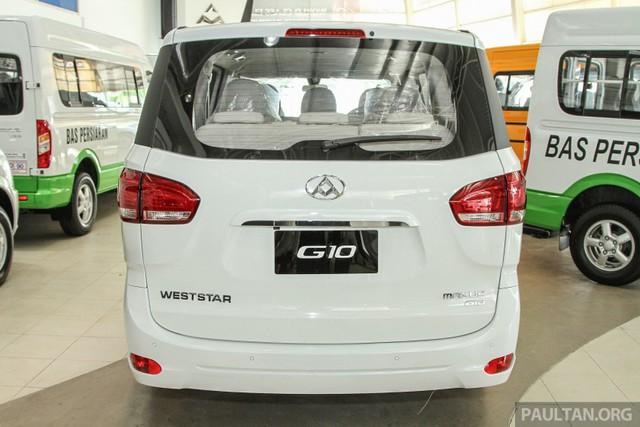 Maxus G10 đã lần đầu tiên được giới thiệu với người tiêu dùng Trung Quốc trong năm 2014. Maxus vốn là nhãn hiệu xe thương mại của hãng SAIC đến từ Trung Quốc.