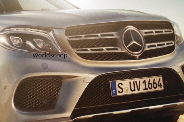 Một phần đầu xe của Mercedes-Benz GLS.