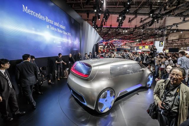 Tất nhiên, Mercedes-Benz Vision Tokyo hiện mới chỉ dừng ở mức xe concept.