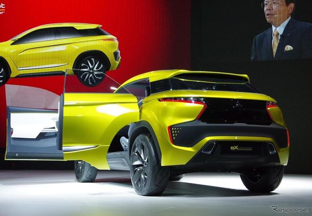 Dự kiến, Mitsubishi ASX thế hệ mới sẽ ra mắt trong một triển lãm lớn vào năm sau, có thể là Geneva 2016.