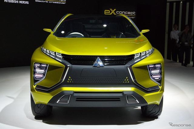 Mitsubishi ASX thế hệ mới dự kiến sẽ được trang bị phần đầu xe với thiết kế như tấm khiên Dynamic Shield tương tự eX.