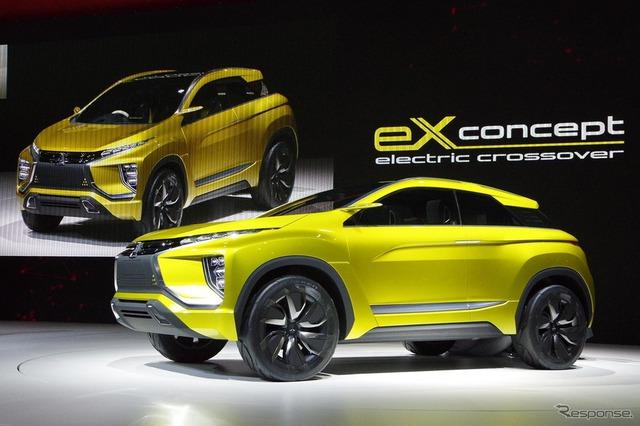 Về cơ bản, Mitsubishi eX là mẫu xe có thiết kế nhỏ gọn, sử dụng mô-tơ điện thế hệ mới và hệ dẫn động 4 bánh toàn thời gian AWD.