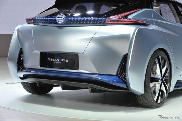 Nissan IDS sử dụng cụm pin có công suất 60 kWh để tăng phạm vi hoạt động bằng điện.