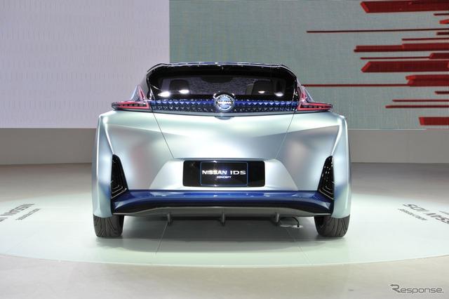 Thân vỏ của Nissan IDS được làm từ sợi carbon vốn thường không phổ biến trong dòng xe điện.