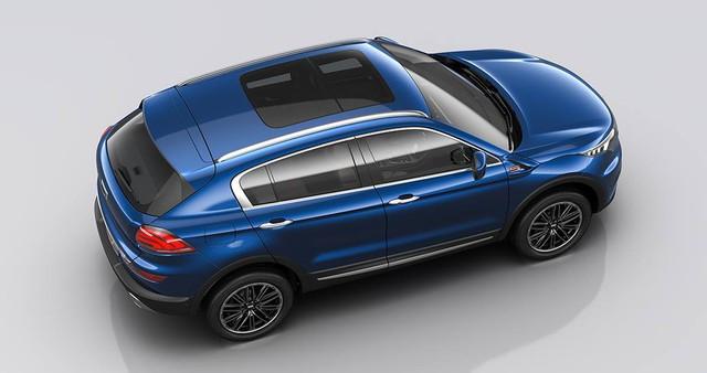 Mẫu SUV made in China mới có cả cửa sổ trời trên bản trang bị cao cấp.