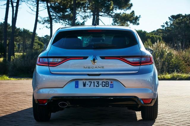 Tại thị trường châu Âu, Renault Megane 2016 được trang bị động cơ xăng Energy TCe 100 với 4 xi-lanh, tăng áp, dung tích 1,2 lít có công suất tối đa 100 mã lực và mô-men xoắn cực đại 175 Nm. Hai con số tương ứng của dộng cơ xăng Energy TCe 130 với 4 xi-lanh, dung tích 1,2 lít là 130 mã lực và 205 Nm. Cả hai động cơ kết hợp với hộp số sàn 6 cấp. Đến giữa năm 2016, động cơ Energy TCe 130 sẽ có thêm hộp số ly hợp kép EDC 7 cấp.