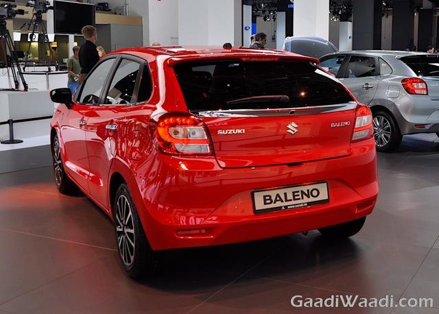Các số đo cơ bản của Suzuki Baleno mới bao gồm chiều dài tổng thể 3.995 mm, chiều rộng 1.745 mm và chiều cao 1.500 mm. Chiều dài cơ sở của xe đạt mức 2.520 mm và chiều cao gầm 170 mm. Dung tích bình xăng cũng như khoang hành lý của Suzuki Baleno lần lượt là 37 lít và 339 lít.