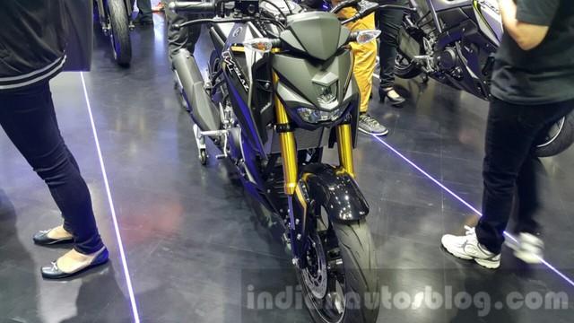 Xe naked biker Yamaha MT-15 lộ diện rõ ràng hơn