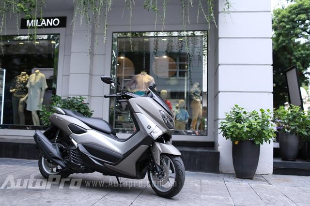 Yamaha NM-X mang đậm phong cách thiết kế châu Âu.