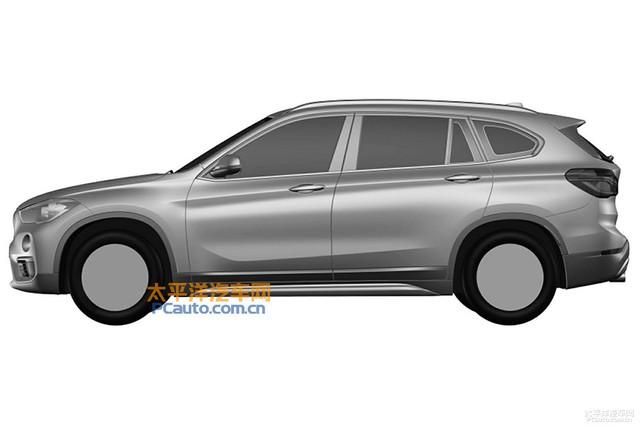 Hình dáng tổng thể của BMW X1 LWB không có gì khác biệt...