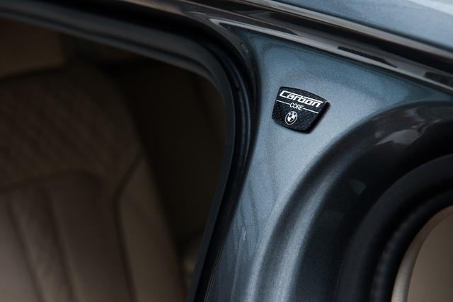 Sử dụng sợi carbon giúp BMW 7-Series 2016 giảm trọng lượng.