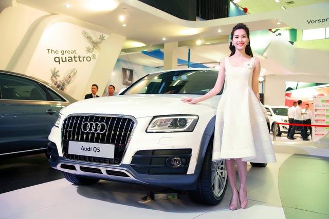 HHVN2012 Đặng Thu Thảo hiện đang là đại sứ của quỹ từ thiện Audi