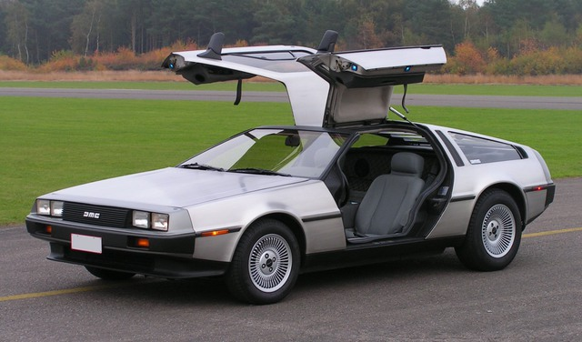 Mẫu DeLorean DMC-12.